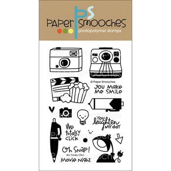 Paper Smooches Clear Stamps We Totally Click