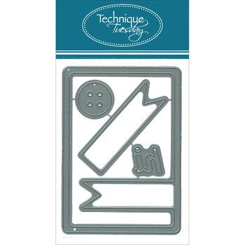 Technique Tuesday DIY Dies Hi Banner Card