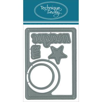 Technique Tuesday DIY Dies Magic Circle Card