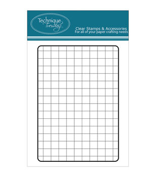 Technique Tuesday Clear stamps Grid