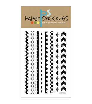 Paper Smooches Clear stamps Borderlicious