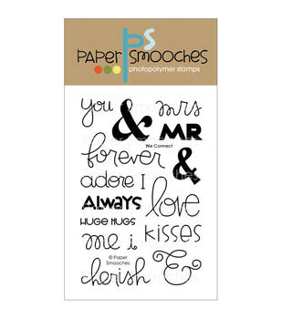 Paper Smooches Clear stamps We Connect