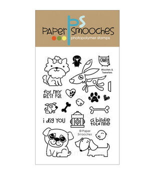 Paper Smooches Clear stamps Woofers & Tweeters