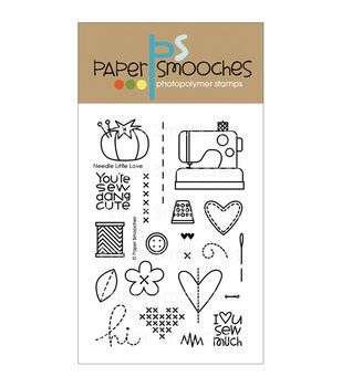 Paper Smooches Clear stamps Needle Little Love