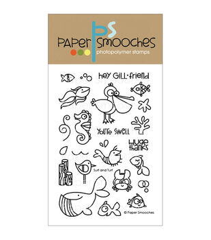 Paper Smooches Clear stamps Surf & Turf