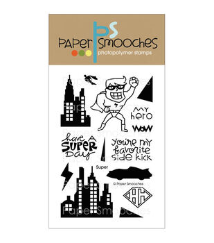 Paper Smooches Clear stamps Super