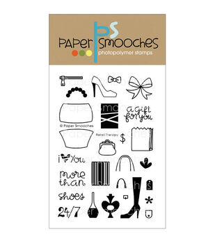 Paper Smooches Clear stamps Retail Therapy