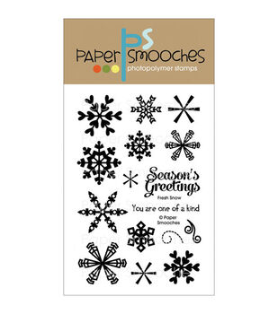 Paper Smooches Clear stamps Fresh Snow