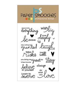 Paper Smooches Clear stamps Group Hugs