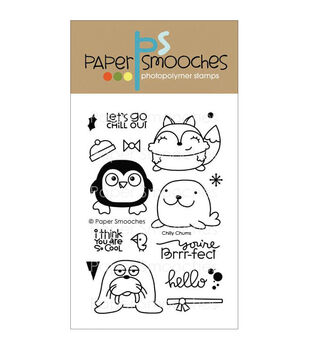 Paper Smooches Clear stamps Chilly Chums
