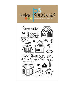 Paper Smooches Clear stamps Bitty Bungalows