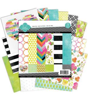 "Heidi Swapp Paper Pad 6""X6"" 36/Pkg-Favorite Things"