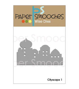 Paper Smooches Cityscape 1 Die