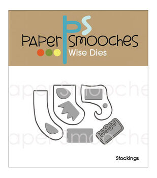 Paper Smooches Stockings Dies