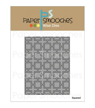 Paper Smooches Squared Die