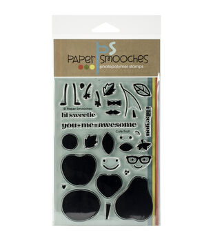 Paper Smooches Cute Fruit Clear Stamps