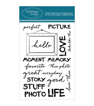 Technique Tuesday Perfect Picture Clear Stamps