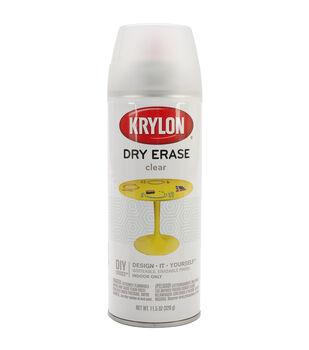 Krylon Dry Erase Clear Aerosol Spray 11.5 oz