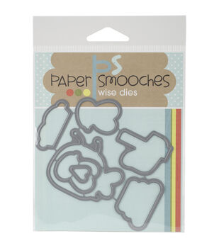 Paper Smooches Die-Bee Mine Icons