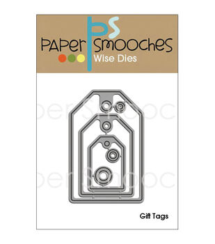 Paper Smooches Die-Gift Tags
