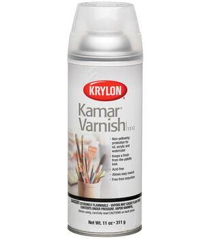 Krylon 11 oz. Kamar Aerosol Spray-1PK/Varnish