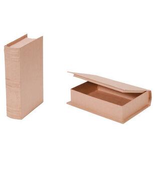 Darice 5.6''x7.8''x1.6'' Paper Mache Book