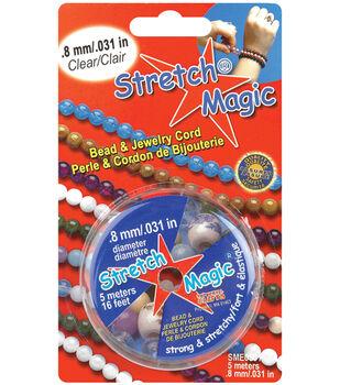 Stretch Magic .8mm Bead & Jewelry Cord-5 Meters