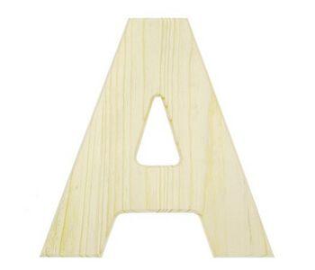 "12"" Wood Letter"