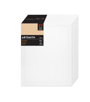 Jo-Ann Stores Stretched Canvas Super Value Pack 8''x10''
