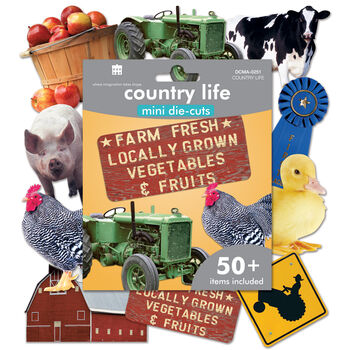 Paper House Mini Die Cuts Country Life