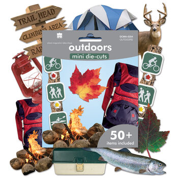 Paper House Mini Die Cuts Great Outdoors