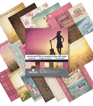 """Country Girl 6"""" Paper Pad 6 x 6 Paper pad"""