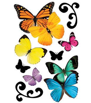 Paper House 3D Stickers-Butterflies