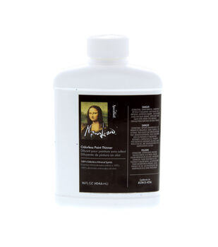 Mona Lisa 16 oz. Odorless Paint Thinner-1PK