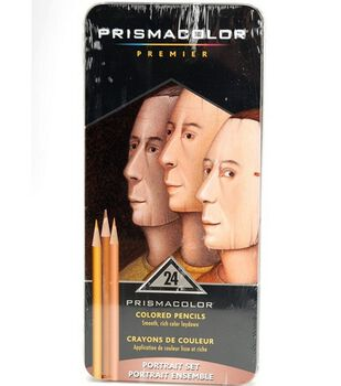 Sanford Prismacolor Premier Portrait Colored Pencil Tin 24Pk