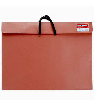 "Red Rope Paper Portfolio W/Soft Handle 23""x31""-Red"