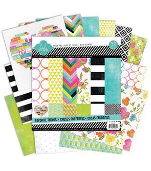 Heidi Swapp 12X12 - Favorite Things Paper Pad