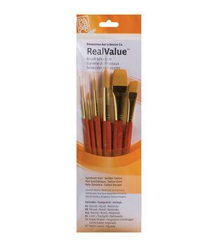 Princeton Synthetic Gold Taklon Brush Set