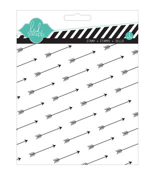 """Heidi Swapp Mixed Media Clear Stamps 5.5""""X5.5""""-Arrows"""