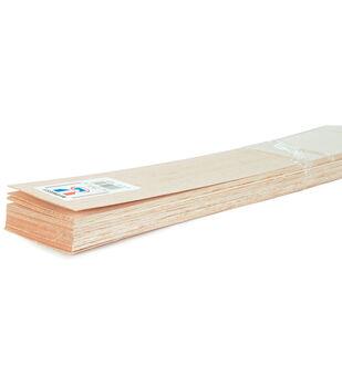 Balsa Wood Sheet 36''-1/4''X3''