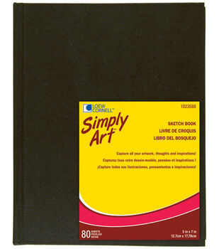 Simply Art Archival Sketchbook 80 Sheets-5-1/4''x7-1/4''