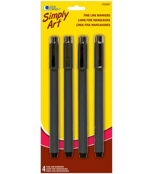 Simply Art Fine Line Markers 4/Pk
