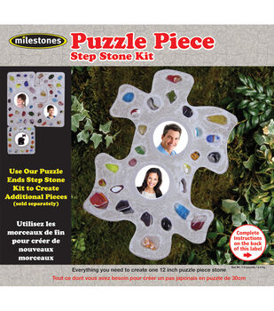 Mosaic Stepping Stone Kit-Puzzle Piece