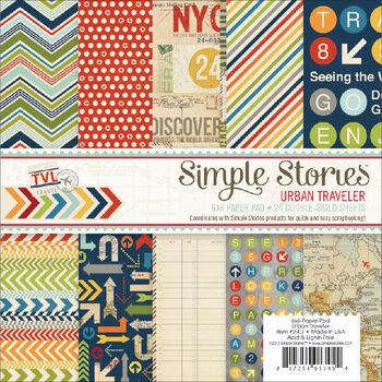 Simple Stories Urban Traveler Paper Pad