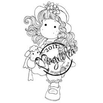 Magnolia Butterfly Dreams Cling Stamp Tilda With Stuffed Animal