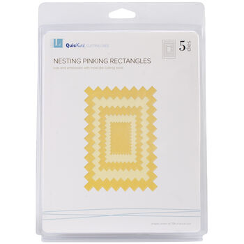 Lifestyle Crafts Nesting Dies Pinking Rectangles