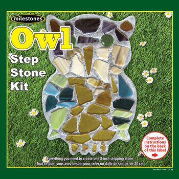 Owl Stepping Stone Kit