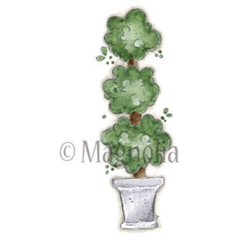 Magnolia Little London Cling Stamp Afternoon Tea Plant