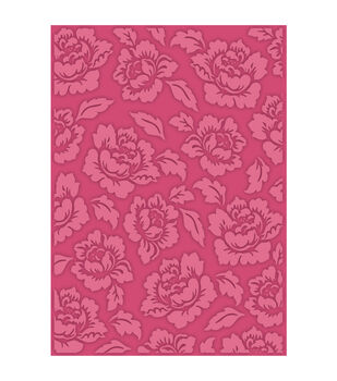 eBosser Embossing Folders Universal Size By Teresa Collins-Cabbage Rose