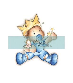 Magnolia Mini Princes & Princesses Stamp Baby Edwin